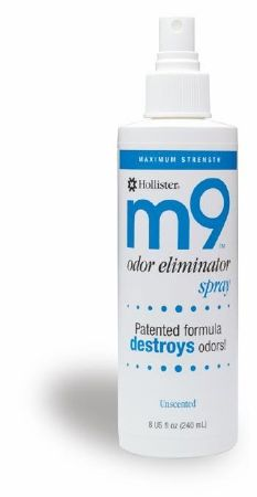 Ostomy Appliance Deodorant M9™ 8 oz. Pump Spray Bottle, Apple Scent