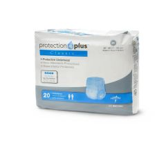 Protection Plus Classic Protective MEDIUM Underwear 80/CS