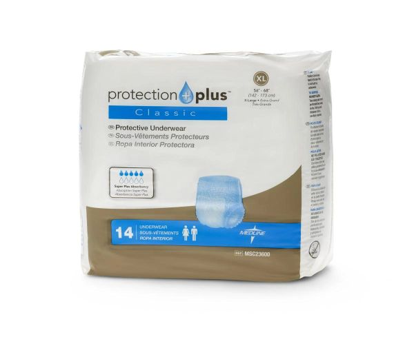 Protection Plus Classic Protective X-LARGE Underwear 56/CS
