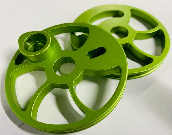 ALUMINUM TIMING WHEELS FOR OLDER STYLE ONEIDA BOWS