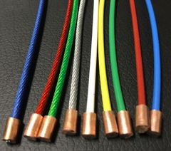 Custom Colored Yoke Cables (Pair)