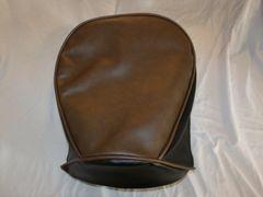 Baja Warrior heat Mini Bike Seat Upholstery Brown With Black Sides