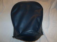 Baja Warrior heat Mini Bike Seat Upholstery Navy Blue