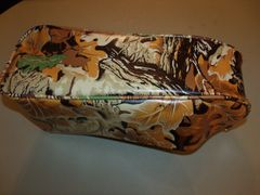 Mini Bike Seat Upholstery db30 Camo Brown Leaf