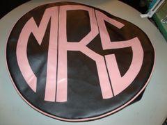 Monogram Spare Tire Cover CBL MRS