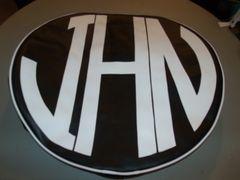 Monogram Spare Tire Cover CBL JHN