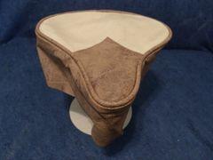 Beach Cruiser Seat Upholstery Cream And Bomber Brown