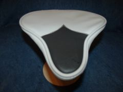 Beach Cruiser Seat Upholstery Light Gray And Black