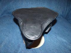 Beach Cruiser Seat Upholstery Black Leather