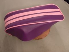 Coleman CT200U Mini Bike Seat Upholstery Purple And Pink 2 Stripe