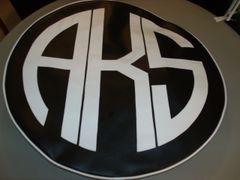 Monogram Spare Tire Cover CBL AKS