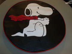 Monogram Spare Tire Cover Snoopy