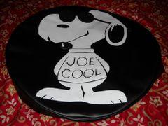Monogram Spare Tire Cover Snoopy Joe Cool