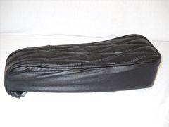 Mini Bike Seat Upholstery Black Leather Diamonds