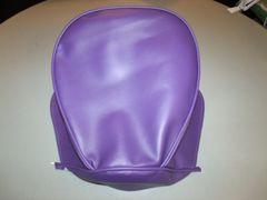 Baja Warrior heat Mini Bike Seat Upholstery Purple