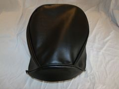 Baja Warrior Heat Mini Bike Seat Upholstery Black Monogram