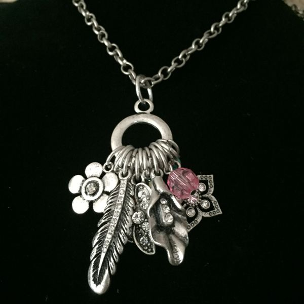 Lots of cute stuff on this necklace