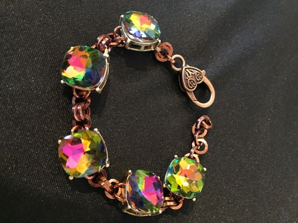 Multi colored big bling