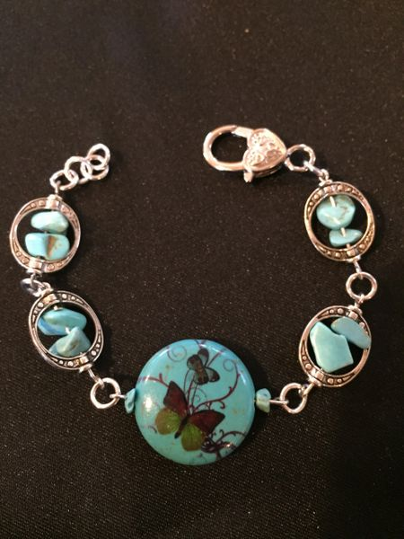 Man made turquoise