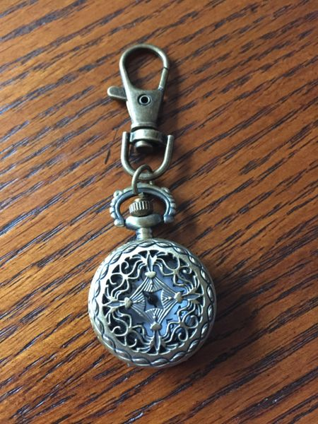 pocket watch or purse charm