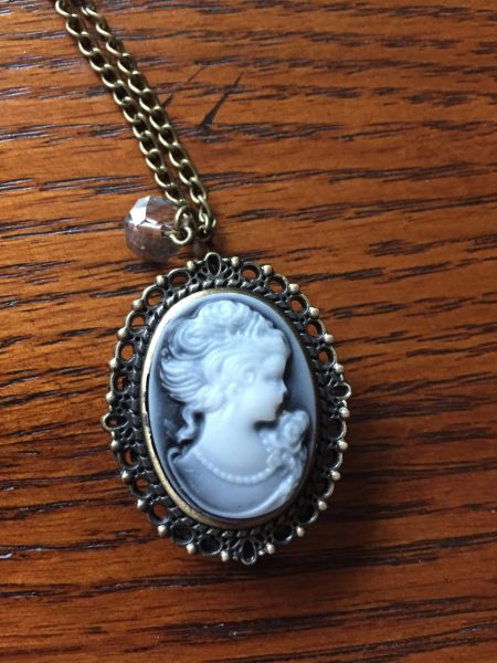 Cameo pocket watch