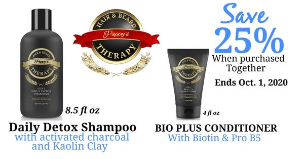 Daily Detox Shampoo / Bioplus Conditioner Combo