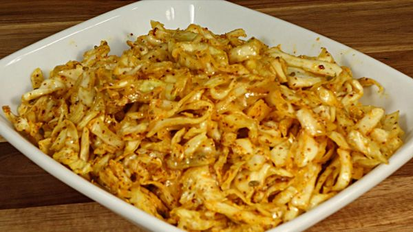 SOUTHERN SPICY CABBAGE