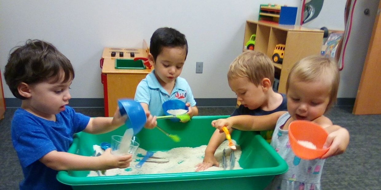 Early Childhood Education using Touch Tables for improving fine motor skills