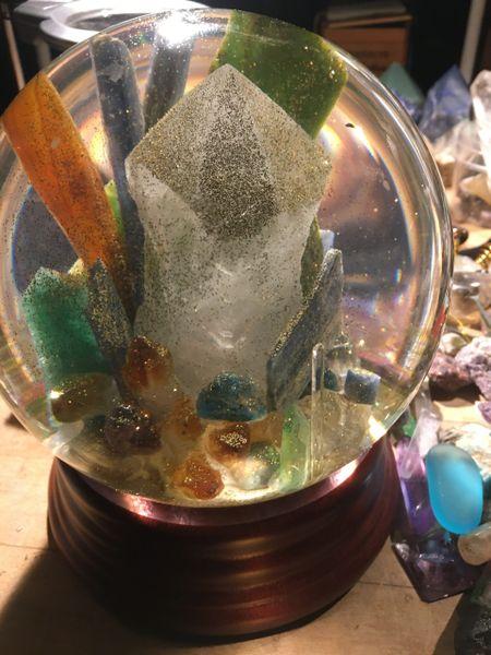 Big Beautiful Abundant Crystal Ball