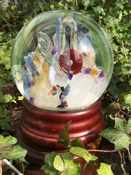 X -tra large Globe -Awesome colors of all the Chakras.