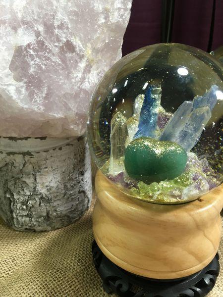 Custom Globes Jade, Rose Quartz Kyanite Garnets- many other gems..