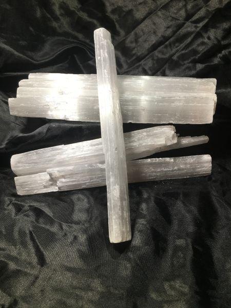 Selenite spiritual cleansing tool.