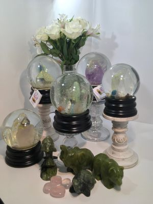 Christial Balls.Join The Positive Energy Shift for Your Future .Genuine Crystals And Gems.Magical.