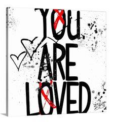 """You Are Loved"" Canvas Print or Original"