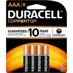 Battery - Duracell Coppertop AAA Duralock 4-Pack