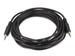 Audio - 12ft 3.5mm Stereo PlugPlug MM Cable - Black