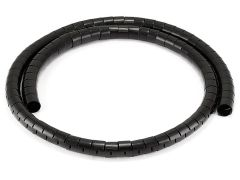 Cable Management - Spiral Wrapping Bands - 25mm x 1.5m (Black)
