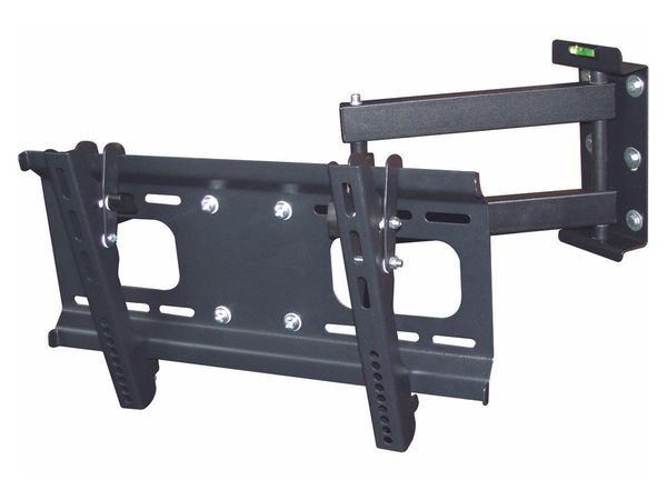 Mount - Full-Motion Wall Mount Bracket for 32-55 inch TVs, Max 88 lbs.
