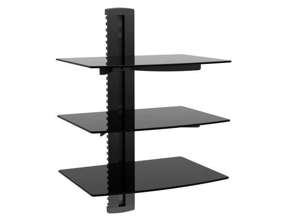 Mount - Wall Mount Bracket 3 Tier Shelf