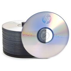 Misc - HP 16x 4.7GB 120-Minute DVD-R Media 50-Piece Spindle