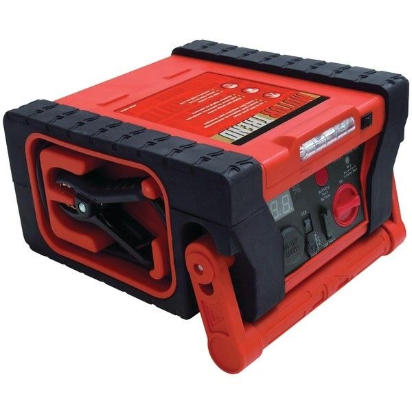 Battery - MOTOR TREND JSM-0579 Compact Jump-Start PowerStation