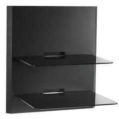 Mount - Double Glass Low Profile Wall Shelf