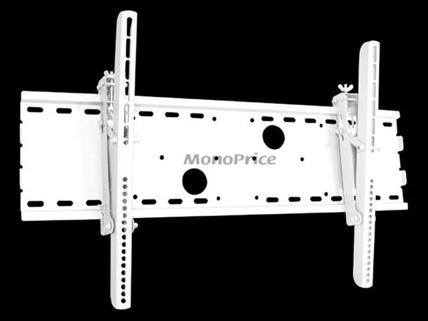 Mount - Tilt Wall Mount Bracket for LCD LED Plasma (Max 165 lbs), 30~63 inch - White