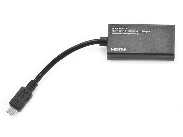 Micro USB to HDMI® MHL Adapter - Black