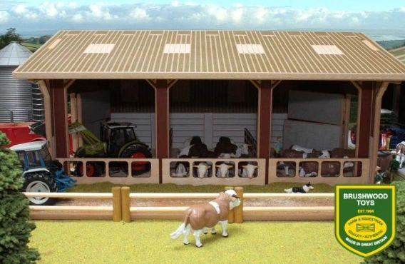 BRUSHWOOD TOYS BEEF UNIT SHED BT8450