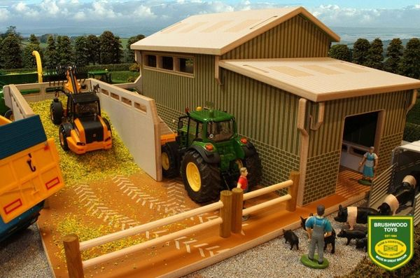 BRUSHWOOD TOYS MY SECOND FARM PLAY SET BT8855