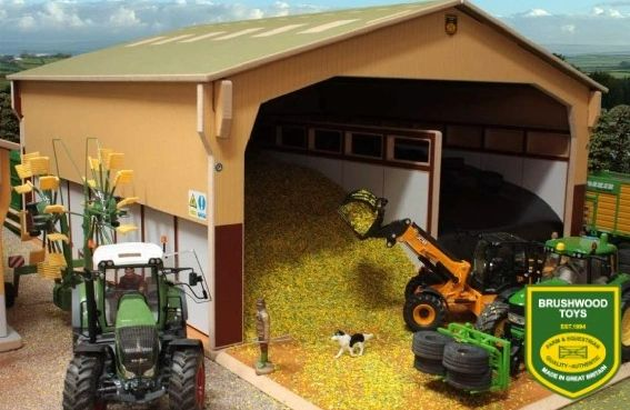 BRUSHWOOD TOYS COVER TO MONSTER SILAGE CLAMP