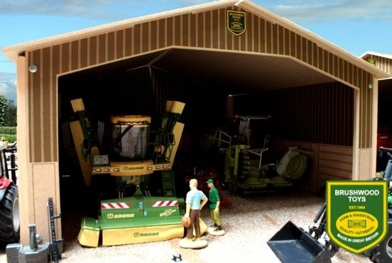 BRUSHWOOD TOYS BASIC SINGLE BAY SHED BB9000