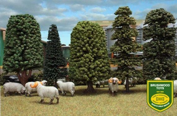 BRUSHWOOD TOYS SCENIC TREES BT2065
