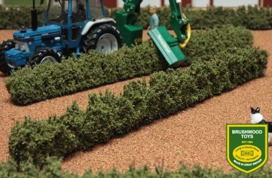 BRUSHWOOD TOYS ROUGH HEDGES (X2) BT2090